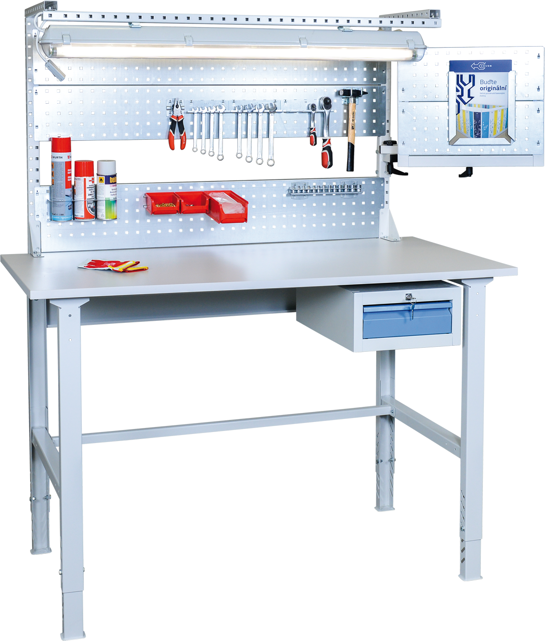 configurator info of assembly workbenches mts metal furniture
